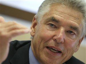 Le président de la multinationale Nestlé, Peter Brabeck-Letmathe