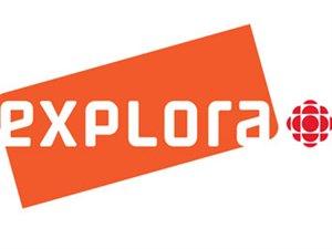 Logo de la nouvelle chaîne spécialisée de Radio-Canada, EXPLORA