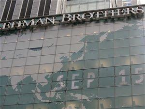Il y a cinq ans, la faillite de Lehman Brothers   ICI ...