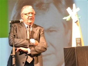 René Fontaine en septembre 2011 au Gala de la francophonie à Hearst