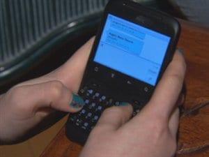 Les adolescents et les textos