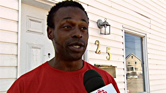 Un résident de la rue Morin menacé d'expropriation.