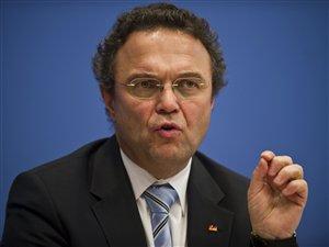 Hans-Peter Friedrich, ministre allemand de l'Intérieur  Friedrich Hans-Peter Friedrich