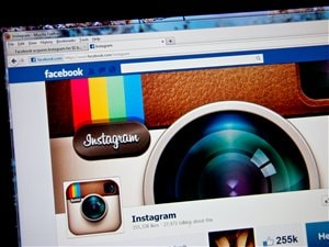 Page Facebook d'Instagram