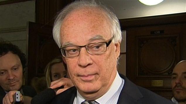 Le ministre de la Sécurité publique du Québec, Robert Dutil