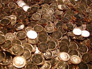 Le dernier lot de pièces d'un cent à être frappées