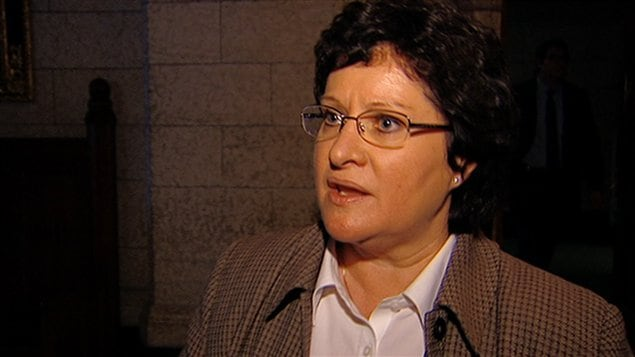 La députée néo-démocrate Françoise Boivin