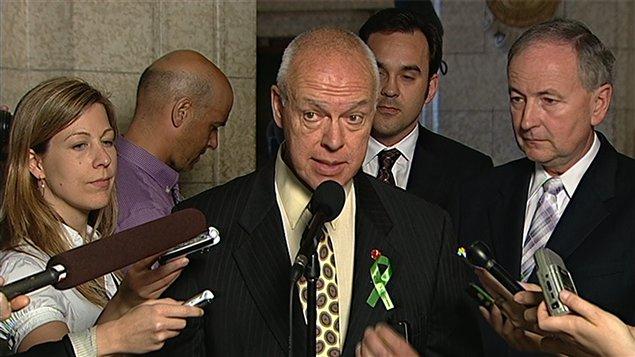 Le sénateur conservateur Jean-Guy Dagenais
