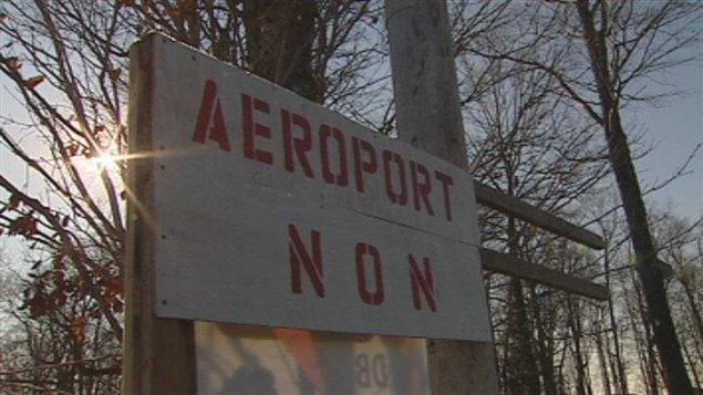 Les citoyens refusent de baisser les bras dans le dossier de l'aéroport de Neuville.