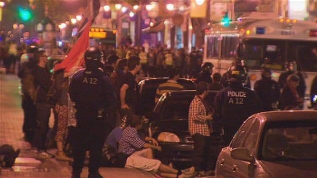 La manifestation s'est soldée par 170 arrestations.