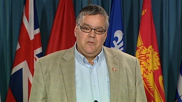 Benoît Brunet, négociateur pour le syndicat des Teamsters