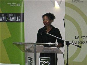 La ministre de la Famille du Québec, Yolande James