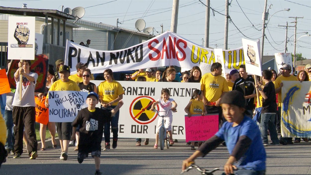La communauté crie de Mistissini s'oppose vigoureusement au projet de mine d'uranium dans le Nord-du-Québec.