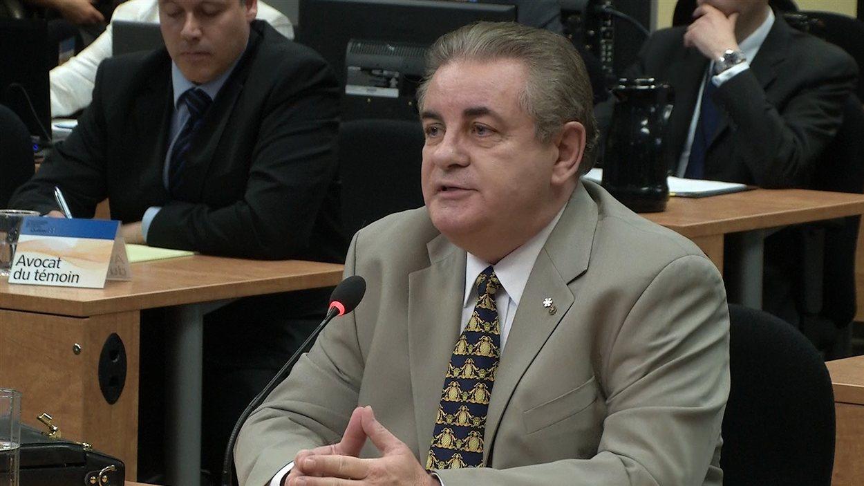 L'ancien directeur de l'Unité anticollusion, Jacques Duchesneau