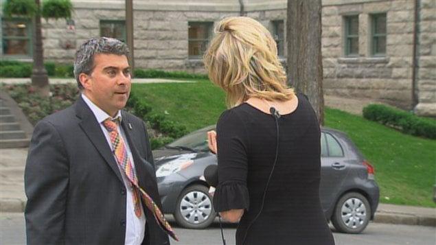 L'attaché de presse du maire Labeaume, Paul-Christian Nolin, réagit aux événements survenus mardi après-midi.