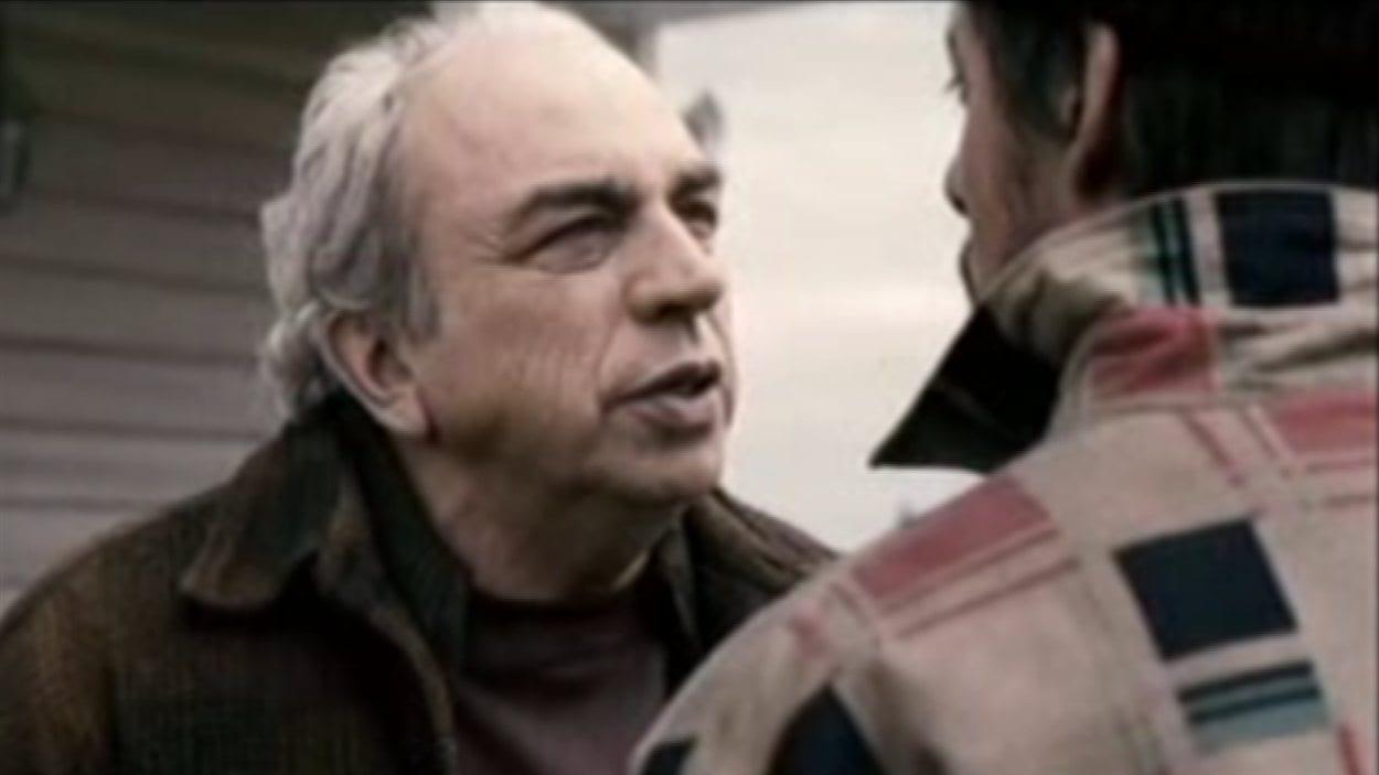 Julien Poulin dans le film «Camion»