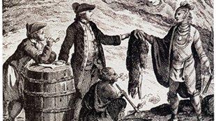 Commerce des fourrures au Canada à la fin du XVIIIe siècle