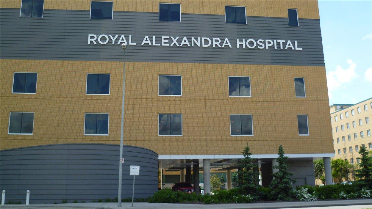 Hôpital Royal Alexandra, Edmonton