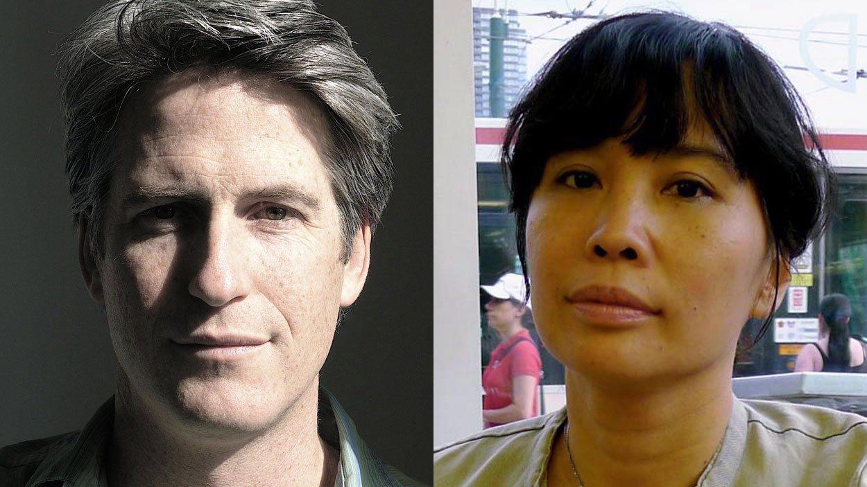 Les acteurs Rick Roberts et Sook-Yin Lee qui joueront Jack Layton et sa femme Olivia Chow