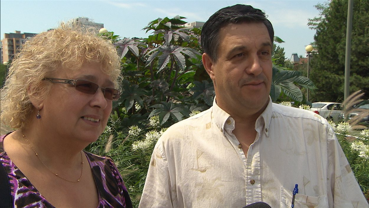 Jose Pereira et sa femme