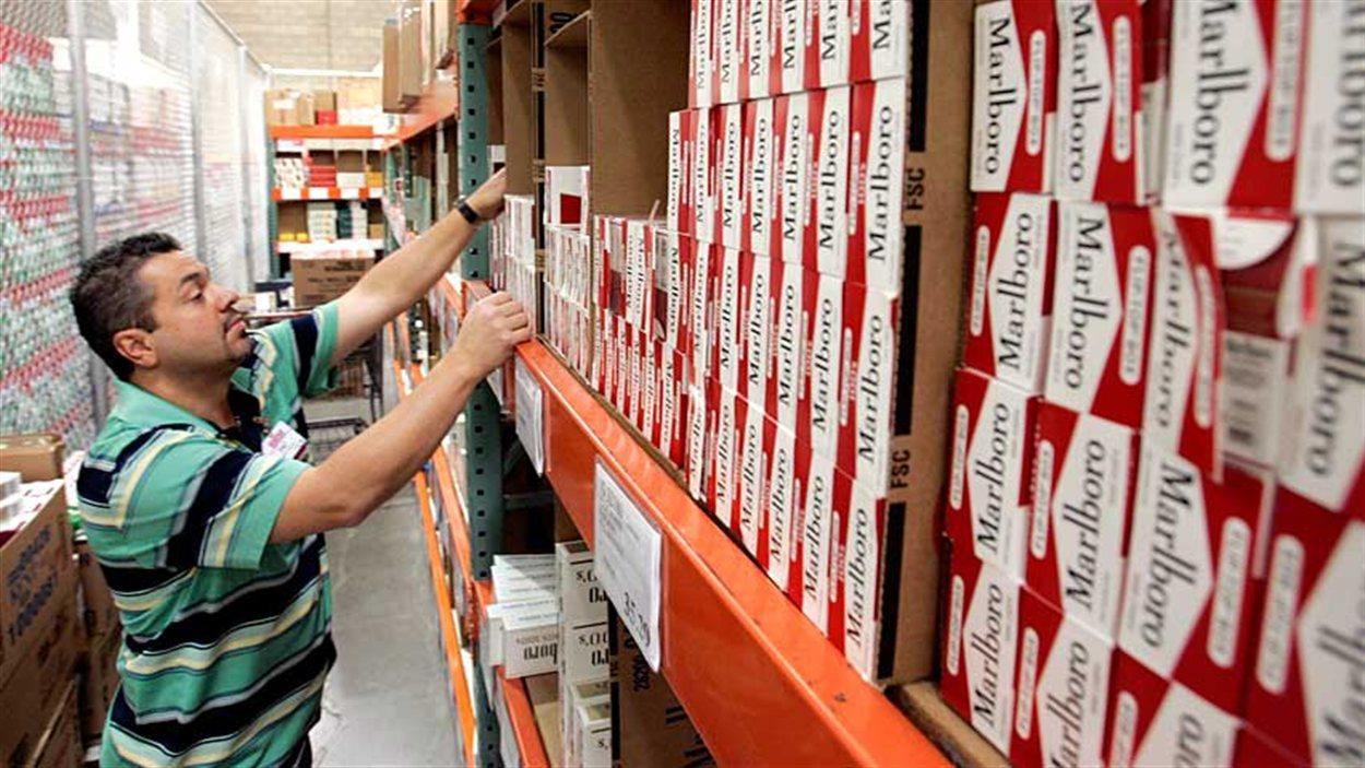 cigarettes vol magasin costco