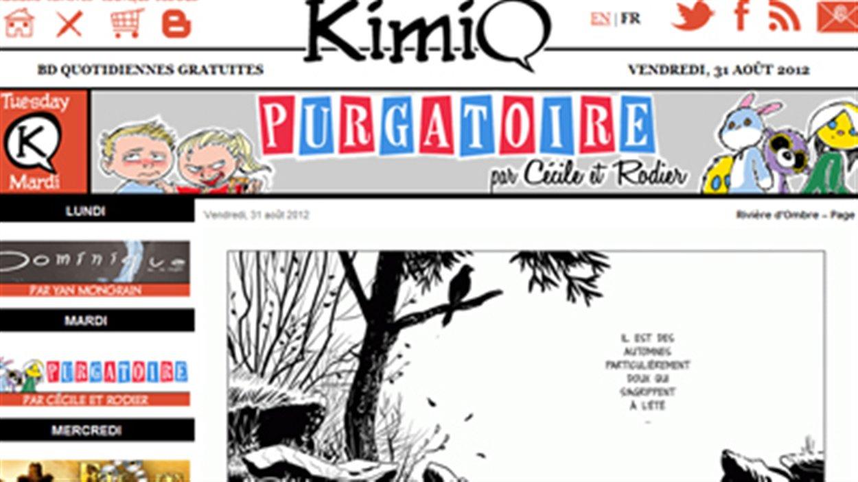 Kimiq, la nouvelle BD sur le web