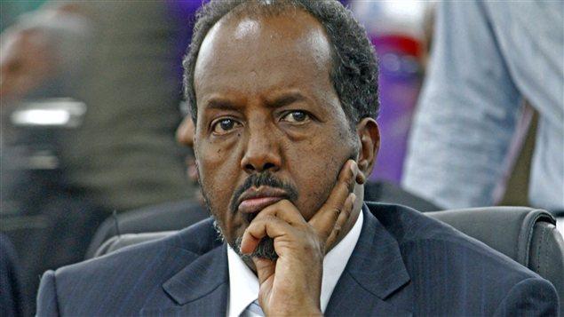 Le nouveau président de la Somalie, Hassan Cheikh Mohamoud, le 10 septembre 2012.