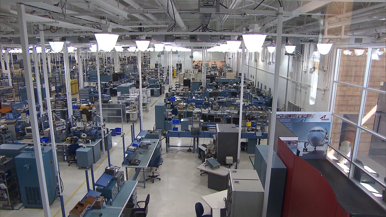 L'usine d'Aveos.