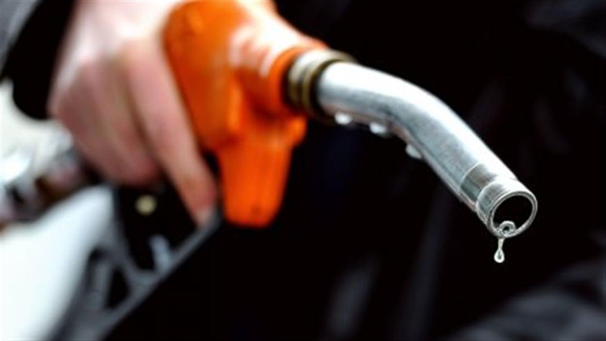 Hausse de l'essence