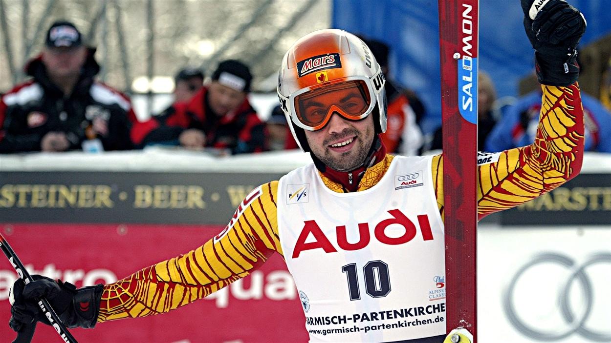 François Bourque à Garmish en 2005