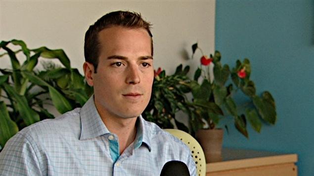 Mathieu Fleury, conseiller du quartier Rideau-Vanier (archives).