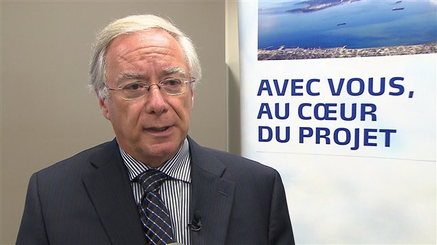 Le directeur du projet de Mine Arnaud à Sept-Îles, François Biron