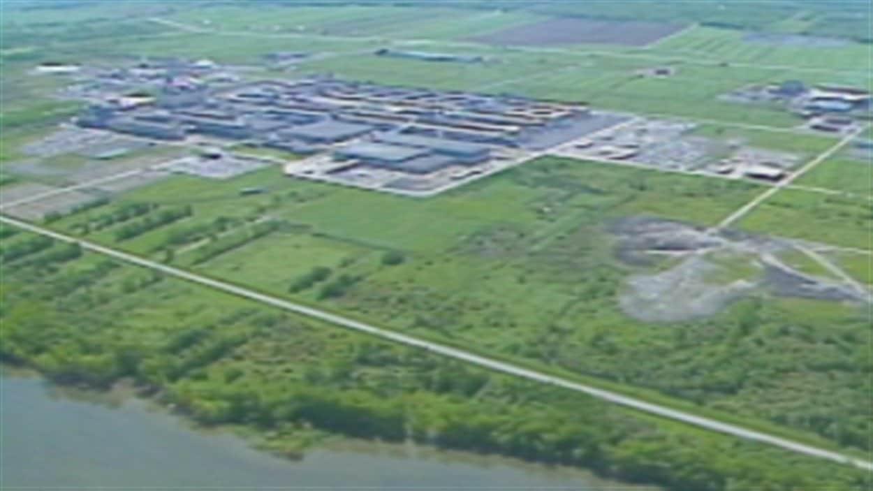 Le parc industriel de Bécancour