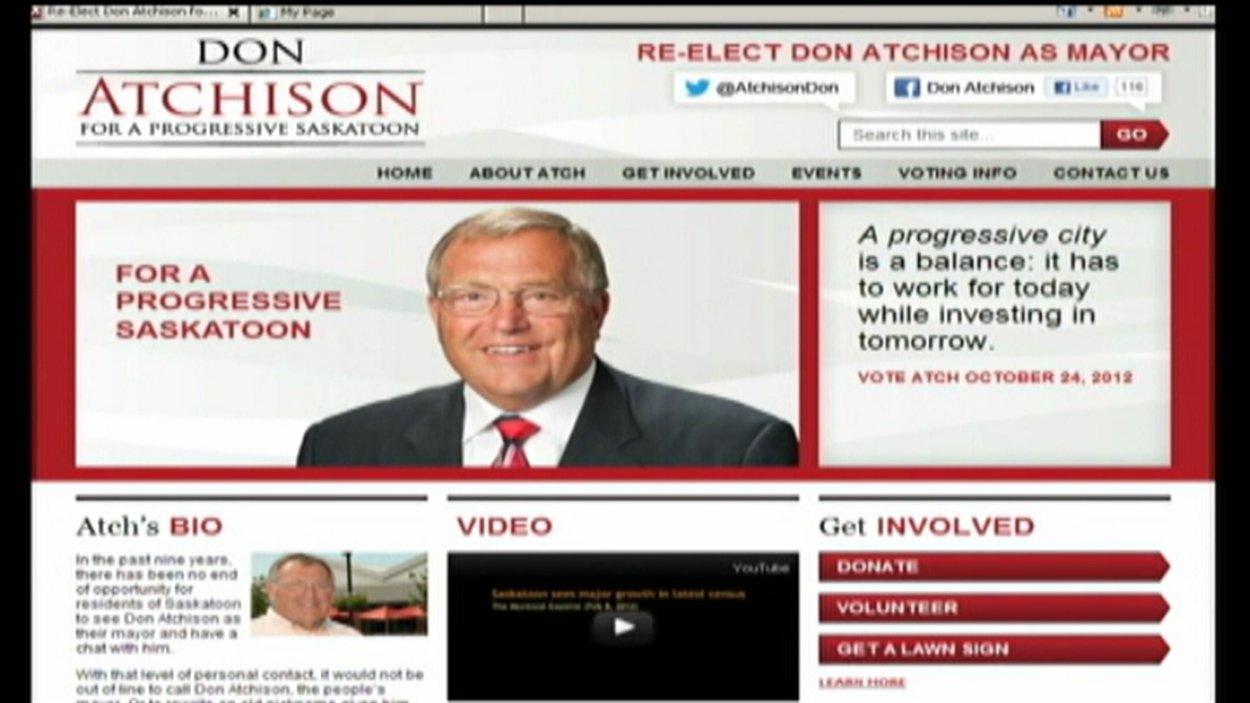 controverse dans la page Facebook du candidat à la mairie Don Atchison