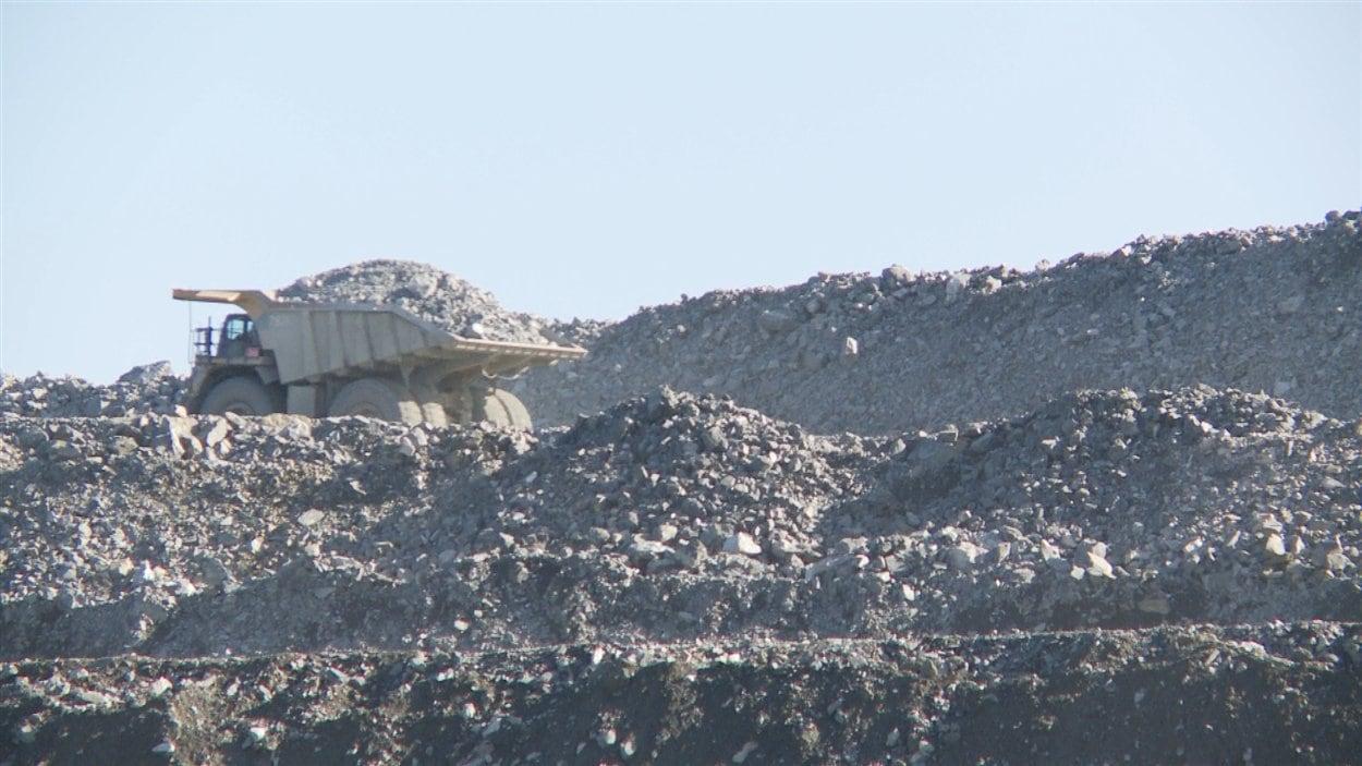La mine d'Osisko à Malartic