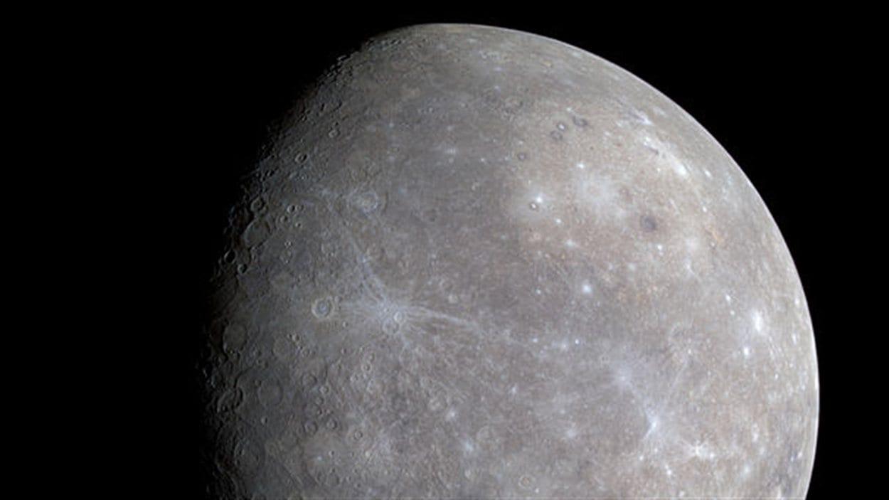 La planète Mercure