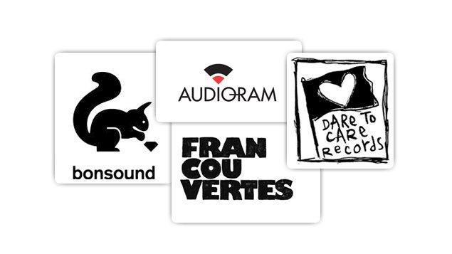 Logos des maisons de disques