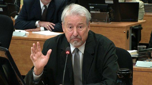 Gilles Surprenant en contre-interrogatoire