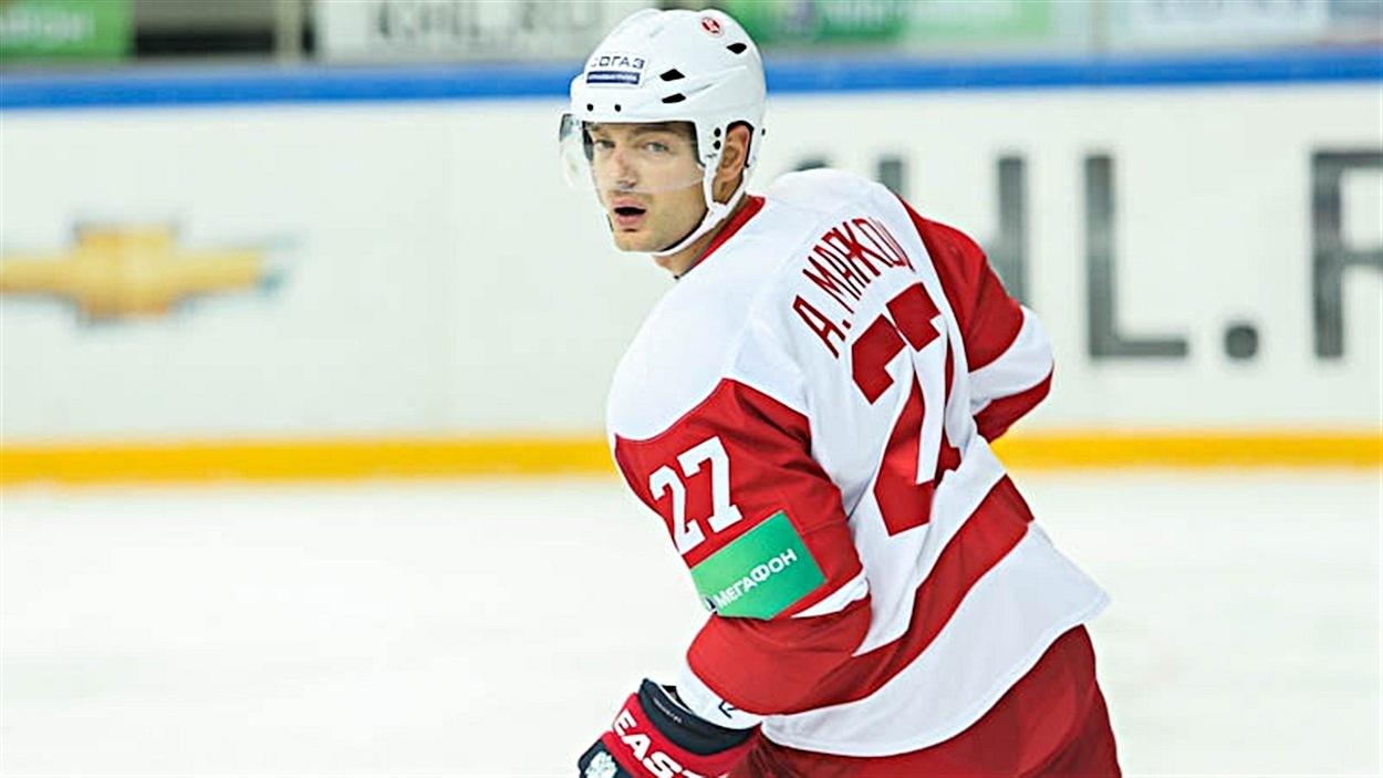 Andreï Markov dans la KHL