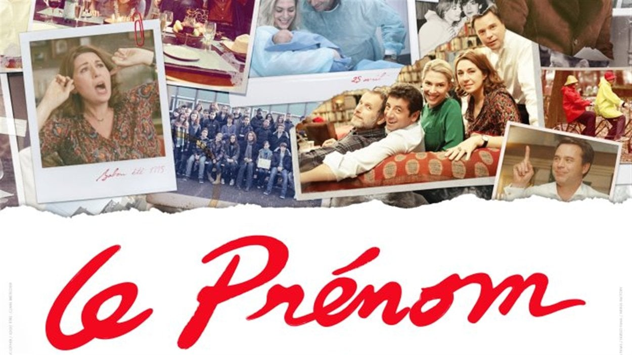 L'affiche du film « Le Prénom », de Matthieu Delaporte et Alexandre de la Patellière