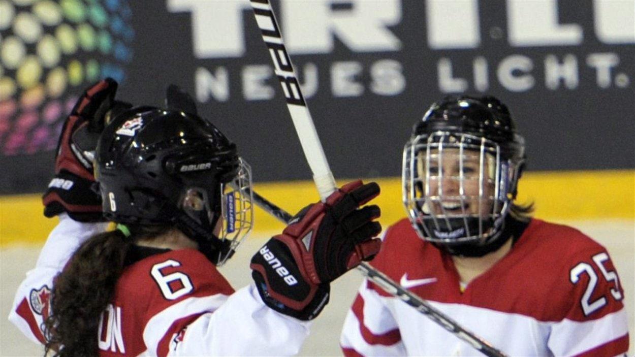 Hockey féminin Canada