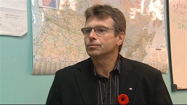 Norm Hall, président de l'Association des producteurs agricoles de la Saskatchewan (APAS)