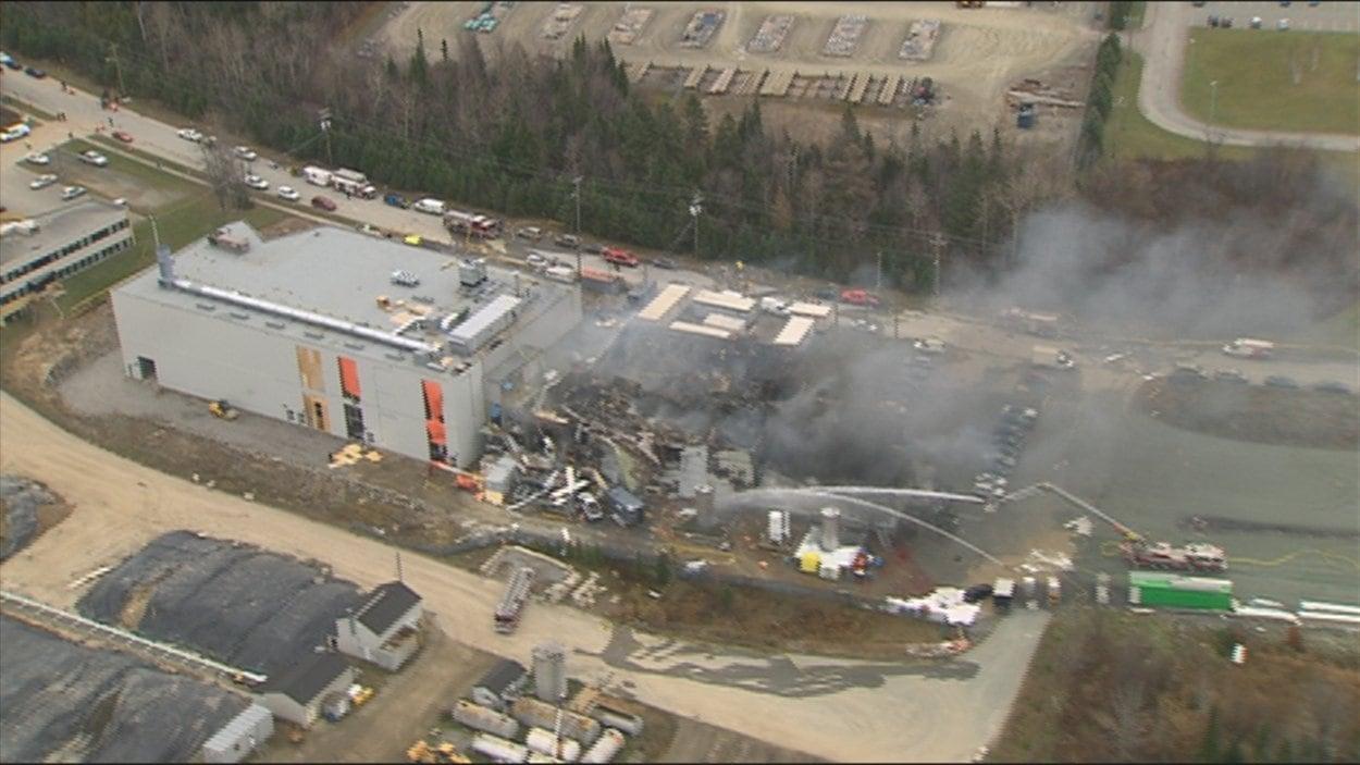 Explosion chez Neptune Technologies à Sherbrooke