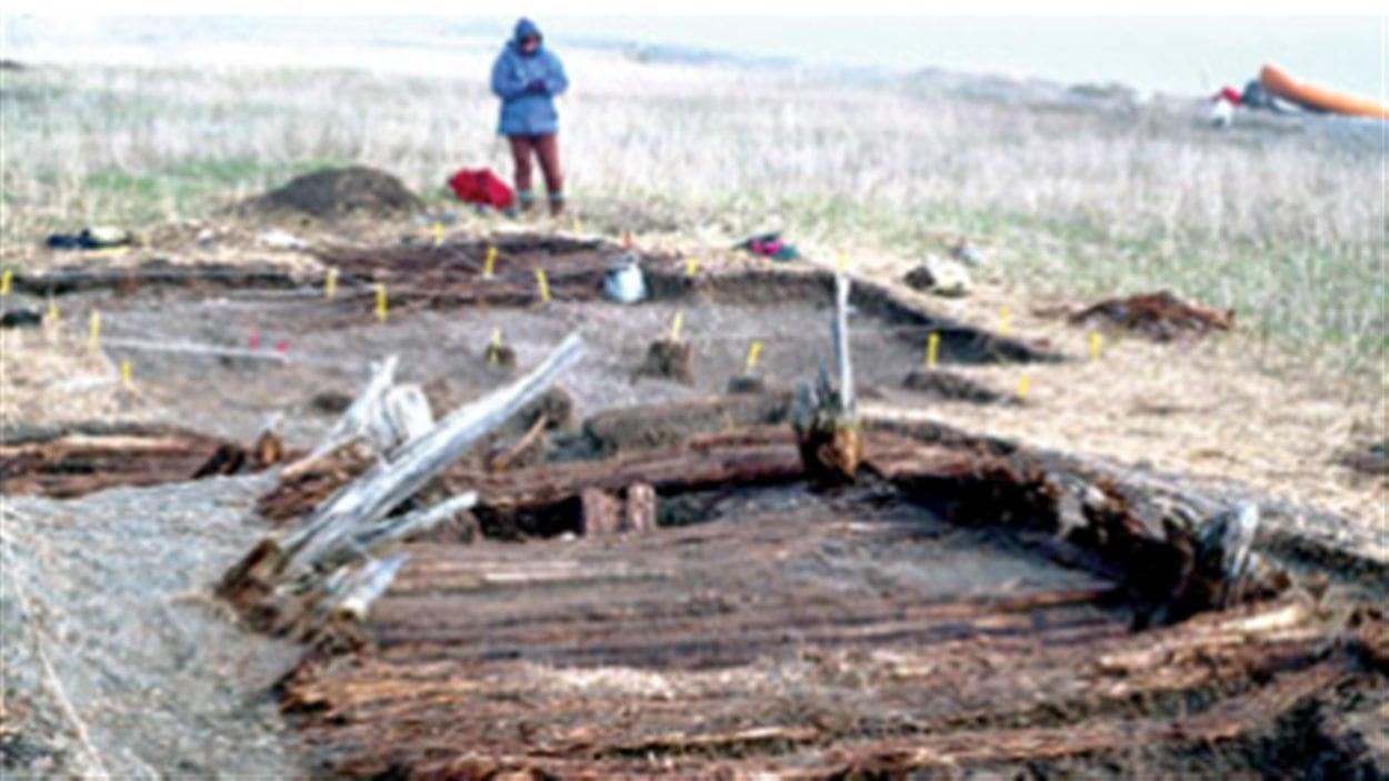 Un site archéologique au Yukon