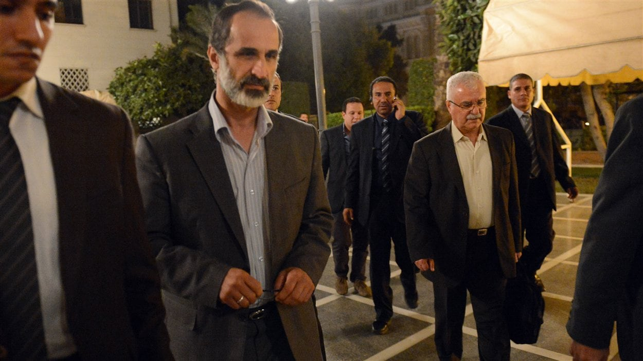 Ahmed Moaz Al-Khatib, le président de la Coalition nationale syrienne