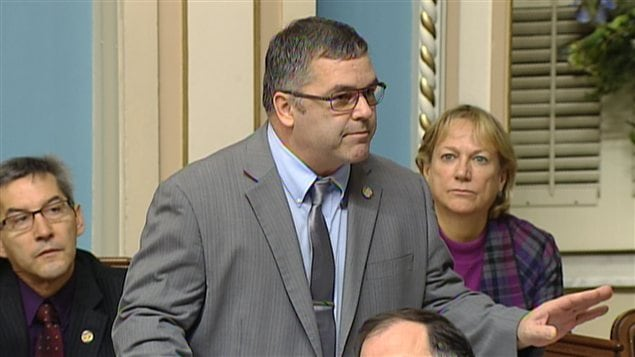 Le ministre de l'Environnement Daniel Breton