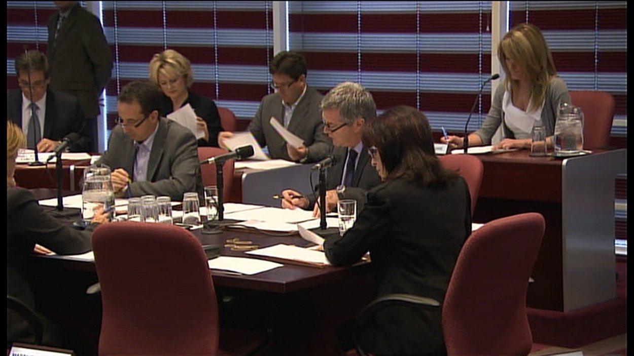 Le conseil municipal de Laval