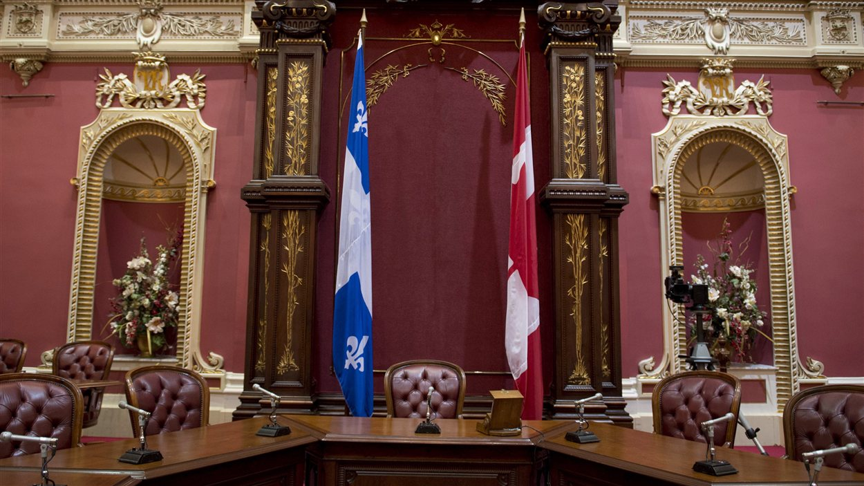 Salon rouge de l'Assemblée nationale