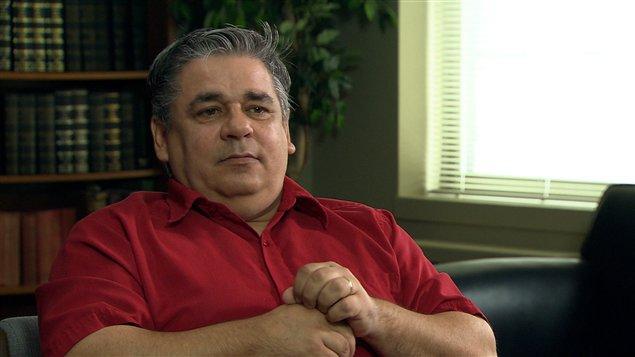 Denis Chalifoux est l'un des anciens pensionnaires de l'Institut des sourds de Montréal qui dit avoir été agressé sexuellement.