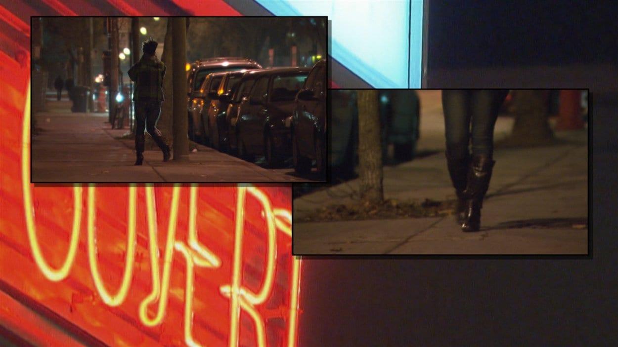 Prostitution dans le quartier Ahuntsic, à Montréal